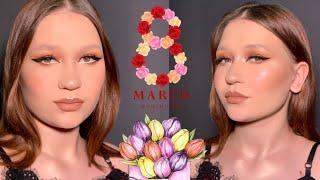 Макияж к 8 марта макияж со стрелкой стрелки