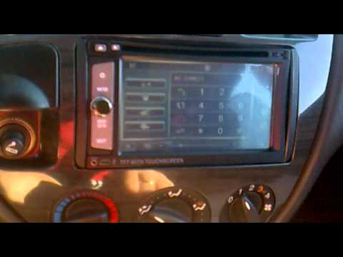 ford focus mk1 2 2din radio street king x3 youtube. Black Bedroom Furniture Sets. Home Design Ideas