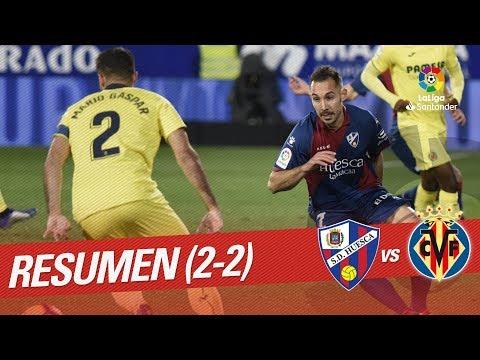 Resumen de SD Huesca vs Villarreal CF (2-2)