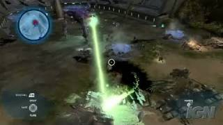 Halo Wars Xbox 360 Gameplay - Demo