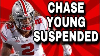 Ohio State Star CHASE YOUNG SUSPENDED INDEFINITELY