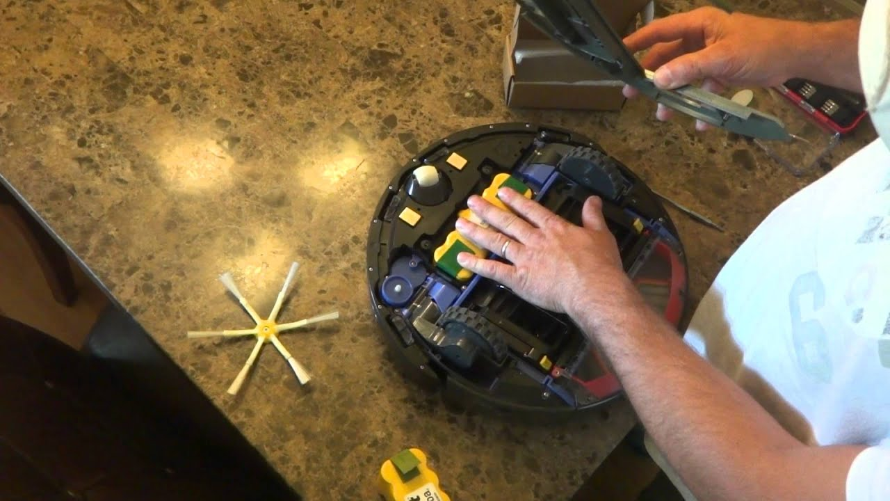 How To Remove And Replace The Battery In The Irobot Roomba