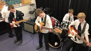 Green Onions - Performed by Finn, Ed, James, James and Sam