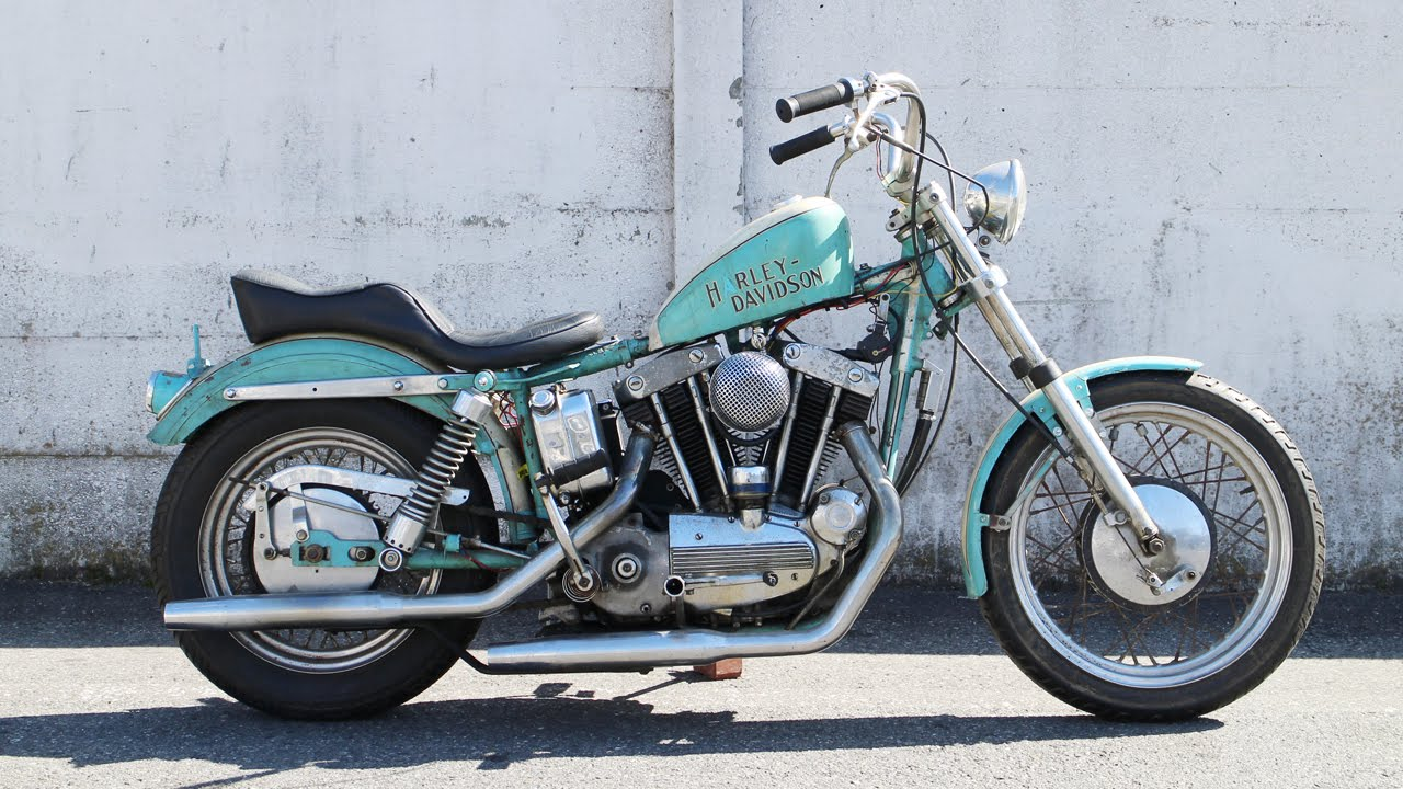 Harley Davidson Ironhead Sportster For Sale