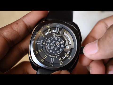 Alexandre Christie Younique Automatic Watch AC 3034 MA Original
