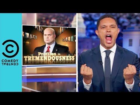 Matt Whitaker's Shady Past | The Daily Show With Trevor Noah thumbnail