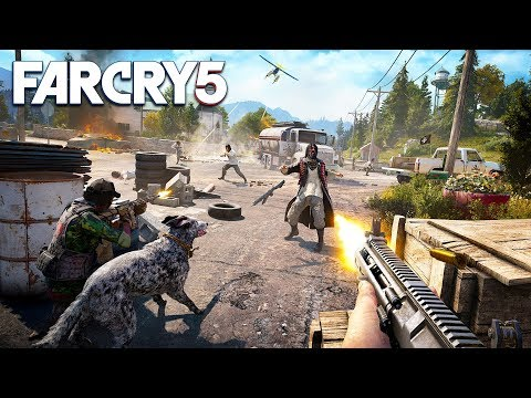 FAR CRY 5 CO-OP w/ MY GIRLFRIEND!! (Far Cry 5 Open World Gameplay in 4K, 60 FPS)