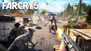 FAR CRY 5 CO-OP w/ MY GIRLFRIEND!! (Far Cry 5 Open World Gameplay in 4K, 60 FPS)