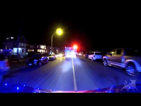Christmas Truck Parade Victoria 2013 - GoPro Dashcam
