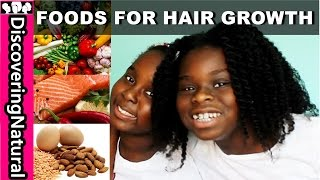 BEST Foods for Healthy HAIR GROWTH and HAIR LOSS
