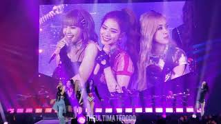 190427 See U Later @ Blackpink In Your Area Hamilton Canada Concert Live Fancam