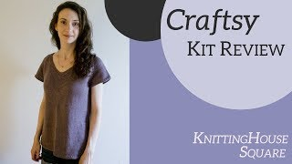 Craftsy Knitting Kit Review | Knitting House Square