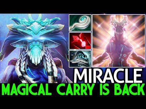 MIRACLE [Leshrac] Magical Damage Carry Is Back Pro Gameplay 7.24 Dota 2