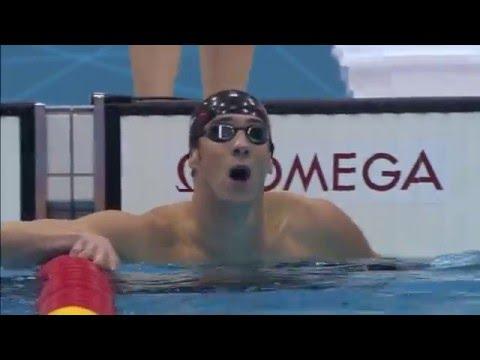 Top 5 Michael Phelps races.
