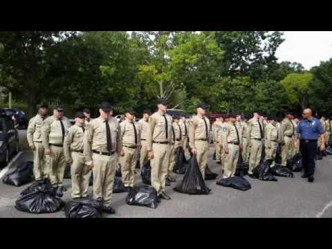 "2014 Ocean County Police Academy - Corrections Class 5 ""Lock-Up"""