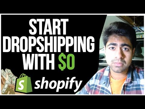 How To START Shopify Dropshipping With $0 | Full Beginner Tutorial thumbnail