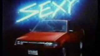 1985年トヨタスプリンターCM。
