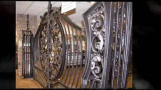 Bespoke Wrought Iron Gates - Aphrodite