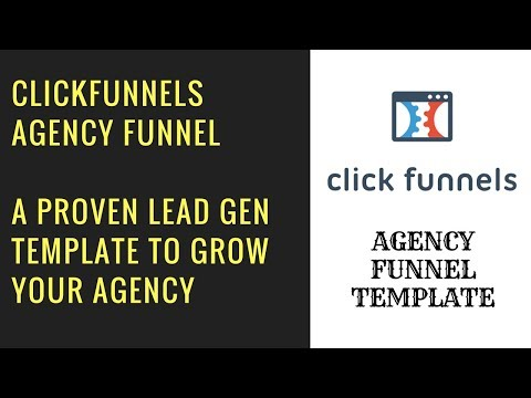 My ClickFunnels Agency Lead Generation Funnel - Template Included!