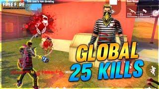 GLOBAL FULL RUSH GAMEPLAY || KILLING HIGHLIGHTS || FREE FIRE BATTLEGROUND