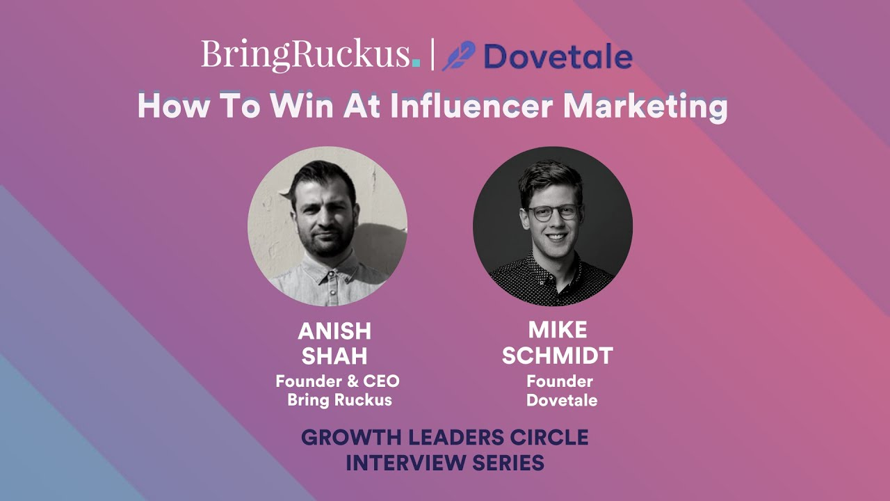 Bring Ruckus | Dovetale: How to win at Influencer Marketing