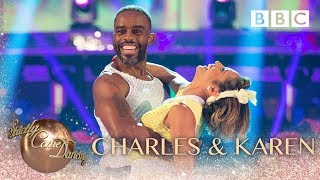 Charles Venn and Karen Clifton Salsa to 'Use It Up And Wear It Out' by Odyssey - BBC Strictly 2018