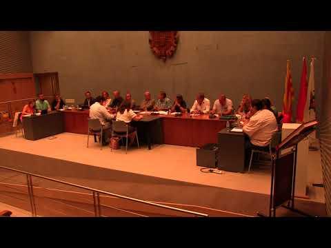 PLENO INTEGRO AYUNTAMIENTO CUARTE DE HUERVA 24/09/2018 - YouTube