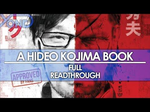 A Hideo Kojima Book - Full Readthrough (Index in the Descriptions Below)