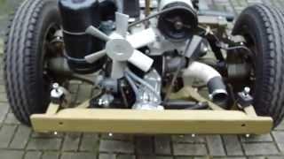 DKW Munga Info 34: Fahrgestell eines 57iger Munga restauriert und im Detail gezeigt