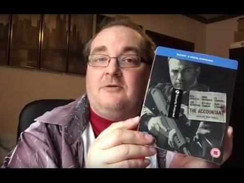 Blu-ray / DVD Hunting with Big Pauly aka Cudzndrips #7 (13/03/17) - THE ACCOUNTANT / BLUFANS