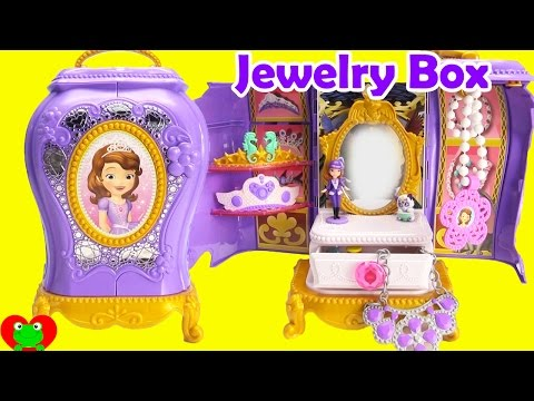 Thumbnail: Sofia the First Jewelry Box with Surprises