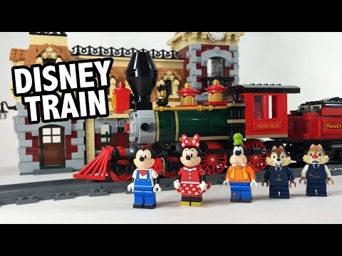REVIEW: LEGO Disney Train and Station Set 71044 - YouTube