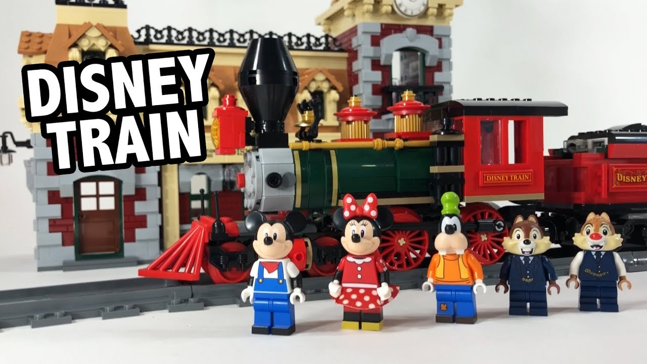REVIEW: LEGO Disney Train and Station Set 71044