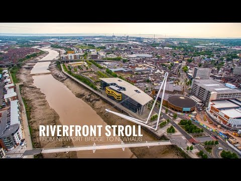 Riverfront stroll from Newport Bridge to Newhaus Part 2