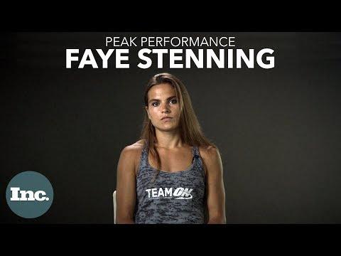 Training: Spartan Race Champion Faye Stenning | Inc.