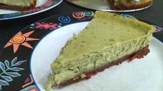 Matcha Cheesecake Recipe  Japanese Green Tea Dessert! - Episode #109