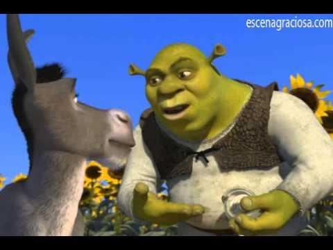 Escena Graciosa de ''Shrek 1''-Los ogros somos como las cebollas