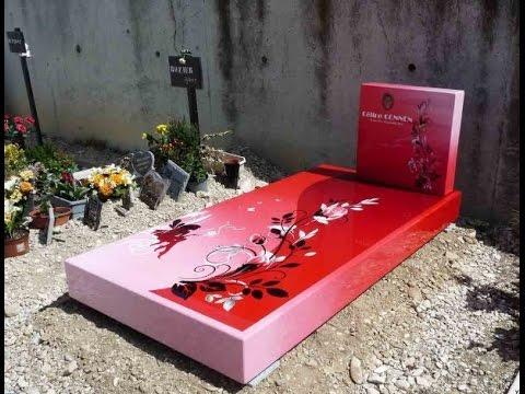 Цветные памятники, цветные рисунки. «Позитивные» надгробия
