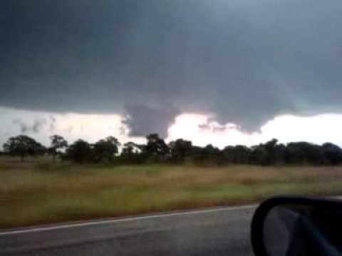Mesocyclones from the 4-25-11 tornados near Oakwood TX