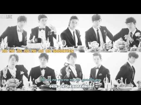 [Karaoke/Thai Sub] 2AM 2PM - No Goodbyes (Kor Ver.)