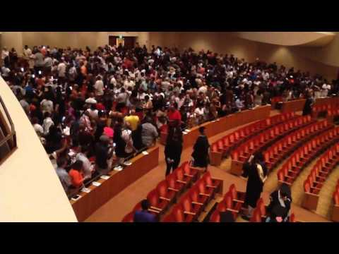 2016 Baltimore city college high school graduation  right side entry
