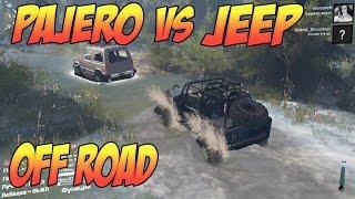 SPINTIRES: PAJERO VS JEEP OFF ROAD