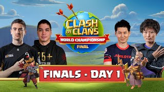 World Championship FINALS - Day 1 - Clash of Clans