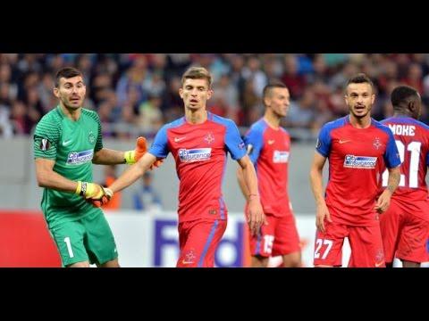Steaua Bucuresti - Slovan Bratislava 1-2 | REZUMAT | 28.01.2017