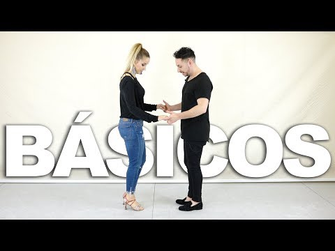 1. Pasos básicos de BACHATA | Como bailar bachata en pareja | Aprende a bailar con Alfonso y Mónica