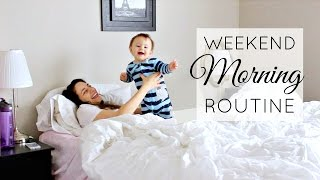 Video My Weekend Morning Routine! Working Mom Edition | Justine Marie download MP3, 3GP, MP4, WEBM, AVI, FLV November 2017