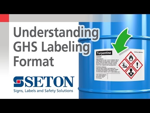 How to Create GHS Compliant Labels | Seton Video