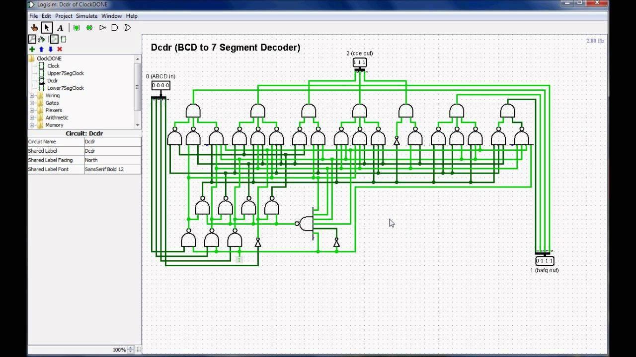 clock circuit diagram [ 1280 x 720 Pixel ]
