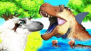 Bienvenidos a SAURIAN! Vamos a ver como vivía la vida un dinosaurio...