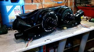 Переделка печки УАЗ 469 \2 зонный климат